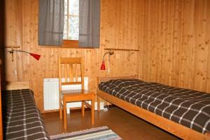 Sovrum med två bäddar
