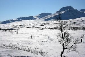 Tväråklumpen och Getryggen i full vinterskrud